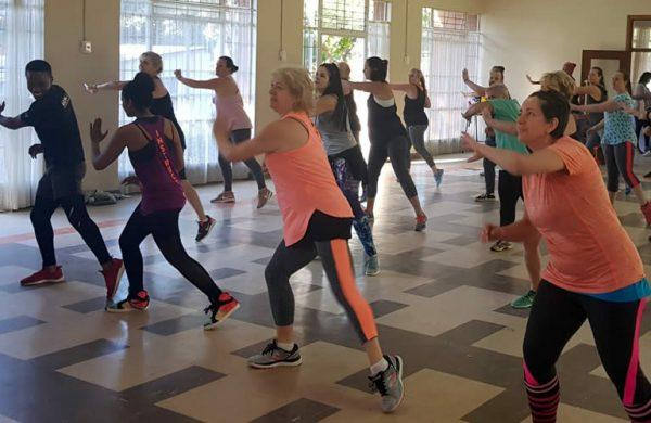 Zumba fundraiser at DCH