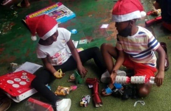 Christmas spoils
